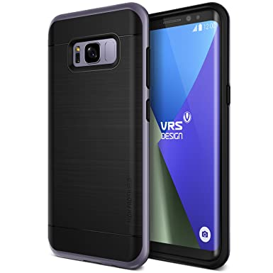 lowest price ad93d c6d9b Samsung Galaxy S8 Case, VRS Design Protective Cover [Orchid Grey] Premium  Heavy Duty Bumper Case Shock Proof TPU Hard PC Cover [High Pro Shield] for  ...