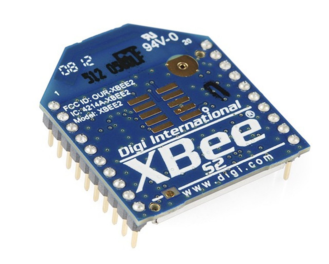 Xbee 2mw PCB Antenna - Series 2 (Zigbee Mesh)/Xbee Also Has A Chip Antenna Which Is Basically A Small Chip That Acts As An Antenna. Quick, Easy, Cheap, And Not In The Way by D&F