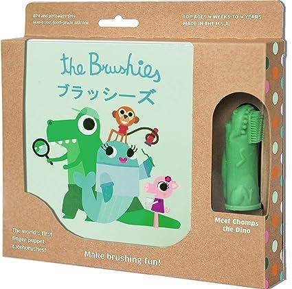 Cepillo de dientes y libro de cuentos para bebés y niños (idioma español no garantizado