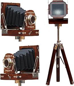 Vintage Royal Wooden Film Slide Old Retro Camera Home Decorative Gift 9
