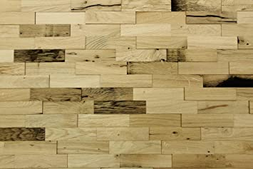 Wodewa Wandverkleidung Holz 3d Optik I Eiche Altholz I 1m Rustikale
