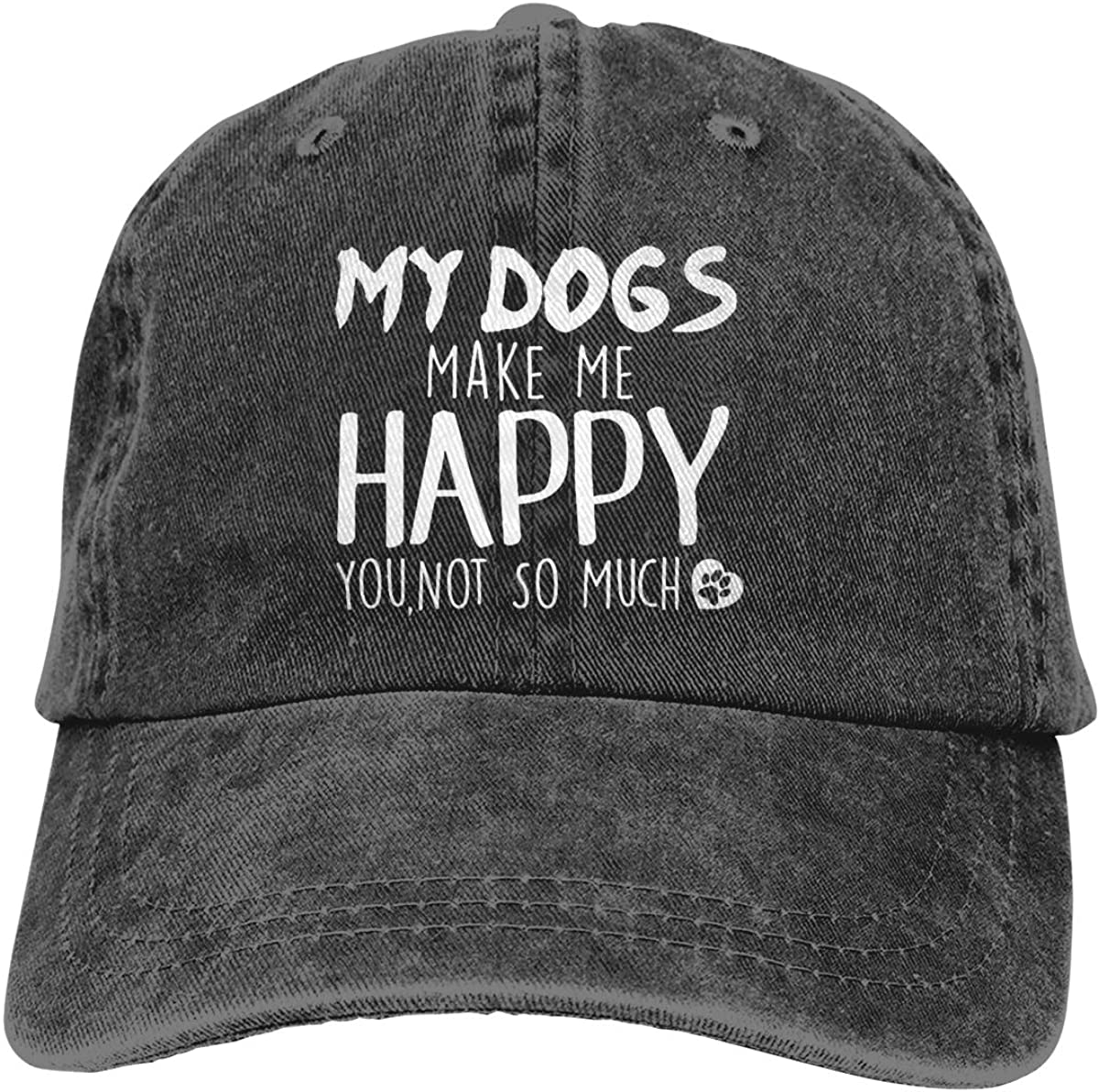 The Best Stay At Home Dog Mom Baseball Cap