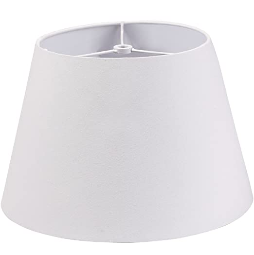 66a6a76c726 Lamp Shade IMISI Desk Lamp Table Lamp Shade Linen Fabric White Reading Lamp  Shades 7.9 X 7.5 X 11.8 Inch Dining Standing White Lamp Shades for Men  ...
