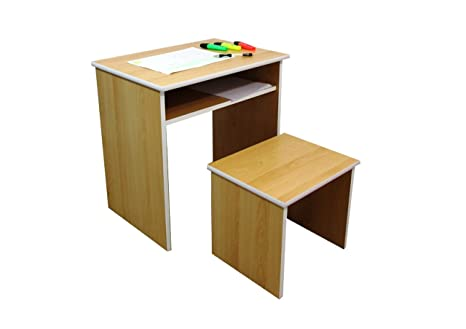 Ashcraft furniture scrivania e sgabello per bambini 55 x 55 x 38 cm