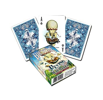 SOLOMAGIA Bicycle Flying Machines Playing Cards by US Playing Card ...