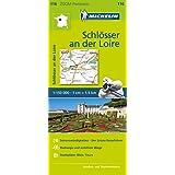 Michelin Schlösser an der Loire: Straßen- und Tourismuskarte 1:150.000 (MICHELIN Zoomkarten, Band 116)