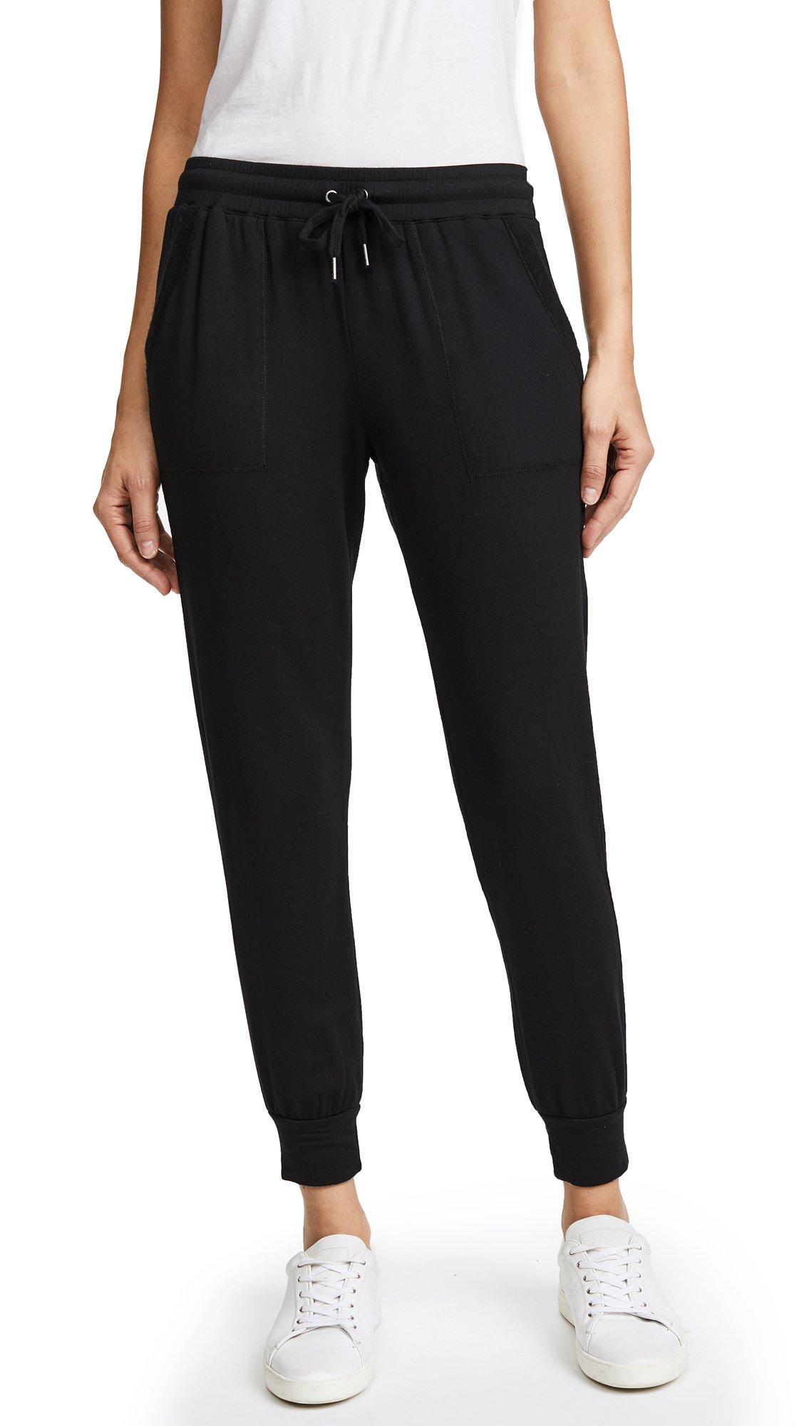 Splendid Women's Forward Seam Pant, Black, L