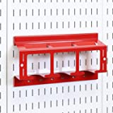 Wall Control Drill Holder Power Tool Storage Rack - Compact Impact Drill Battery Power Tool Pegboard Organizer for Wall…