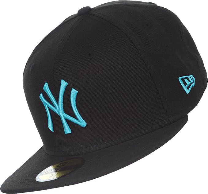 Gorra New Era: Seas Basic MLB New York Yankees BK/BL: Amazon.es ...
