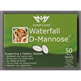 Sweet Cures - 50 Tablettes Waterfall D-Mannose 1g (50 x 1g)