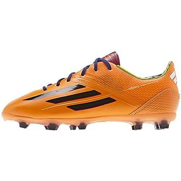hot sale online 0ee76 bc440 Adidas F50 adizero TRX FG Kids Football Boots orange   schwarz Size 5.5 UK  - 38.2 3 EU  Amazon.co.uk  Sports   Outdoors