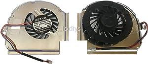 "Todiys CPU Cooling Fan for Lenovo Thinkpad 14.1"" WXGA T61 T61P R61 R61i Serise T61 7664-xxx 7664-R7U 7664-R8U 7664-RYU 7660-all 42W2460 R61 7734-01U 7734-11U 7733-1BU 7743-1GU 7751-11U R61i 7732-B1U"