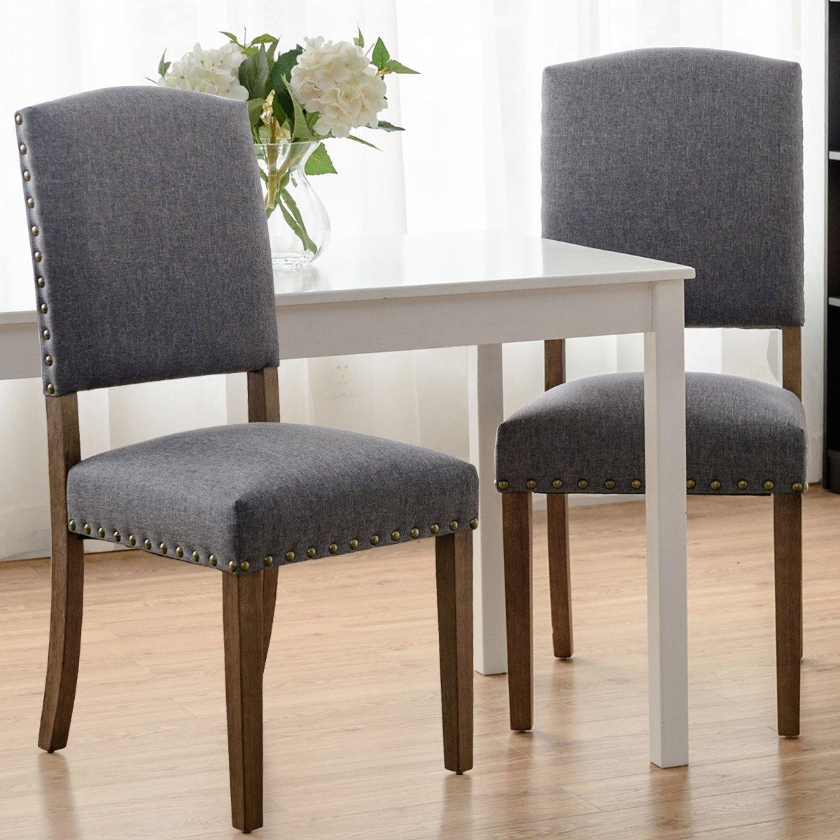 Amazon.com: Giantex armess madera juego de silla de comedor ...