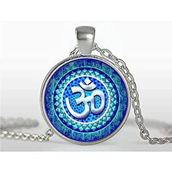 Colgante Om Collar Joya de la yoga Om Symbol, el budismo ...