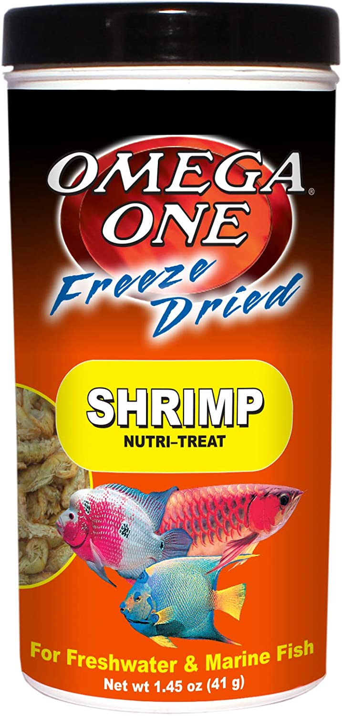 Omega One Freeze Dried Shrimp, 1.45 oz