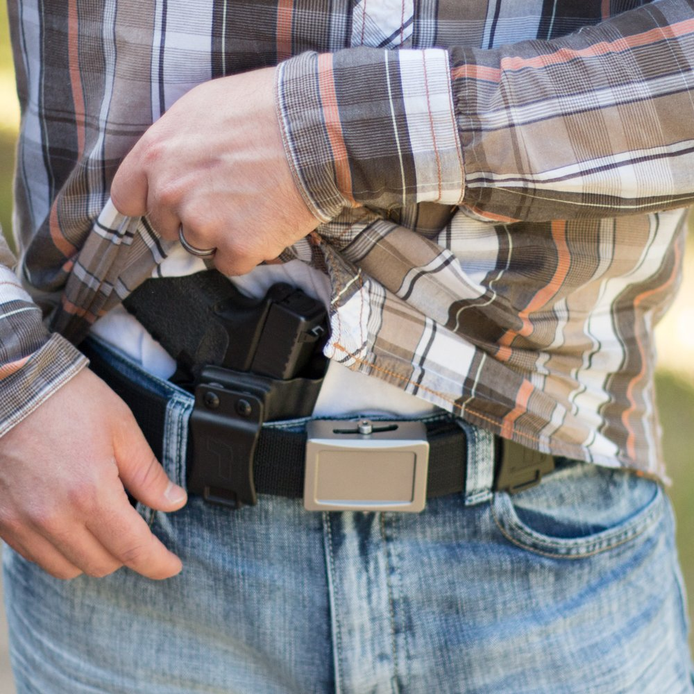 Tulster Sig P938 Holster IWB Profile Holster (Dark Grey - Right Hand) by Tulster (Image #4)