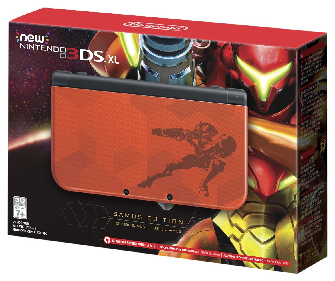 Nintendo New 3DS XL - Samus Edition [Discontinued] by Nintendo