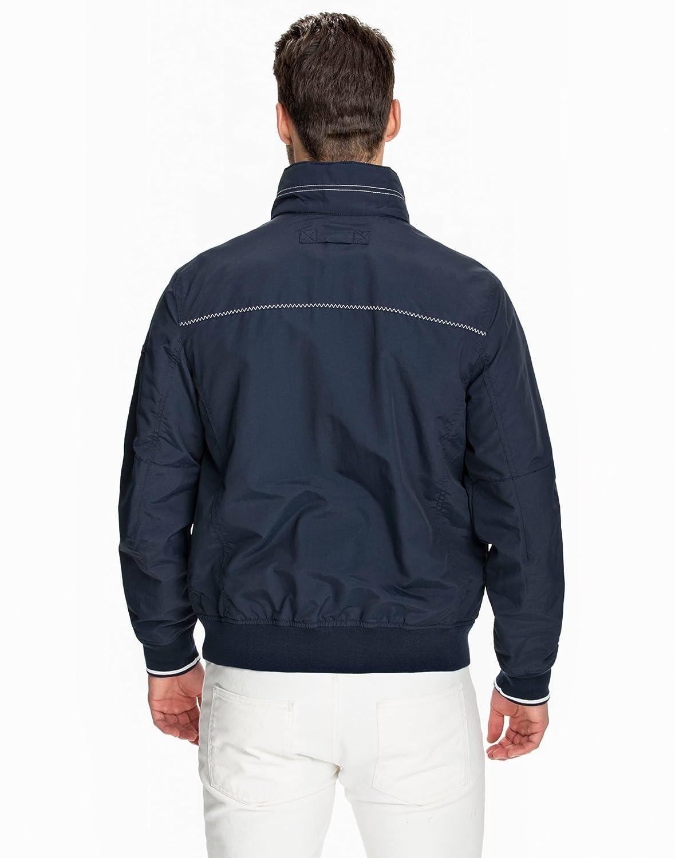7006697f8b23c Gant Men's The Rigger Jacket Blue Size XX-Large 100% nylon. lined of 100%  polyester.: Amazon.co.uk: Clothing