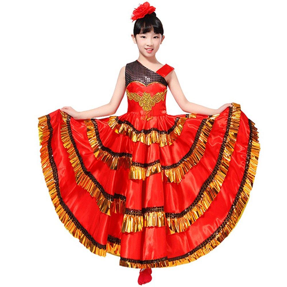 Red Dance Dress