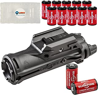 product image for SureFire XH15 WeaponLight with MasterFire RDH Interface, 350 Lumens, Polymer Body with 12 Extra CR123A Batteries and 3 Lightjunction Battery Boxes