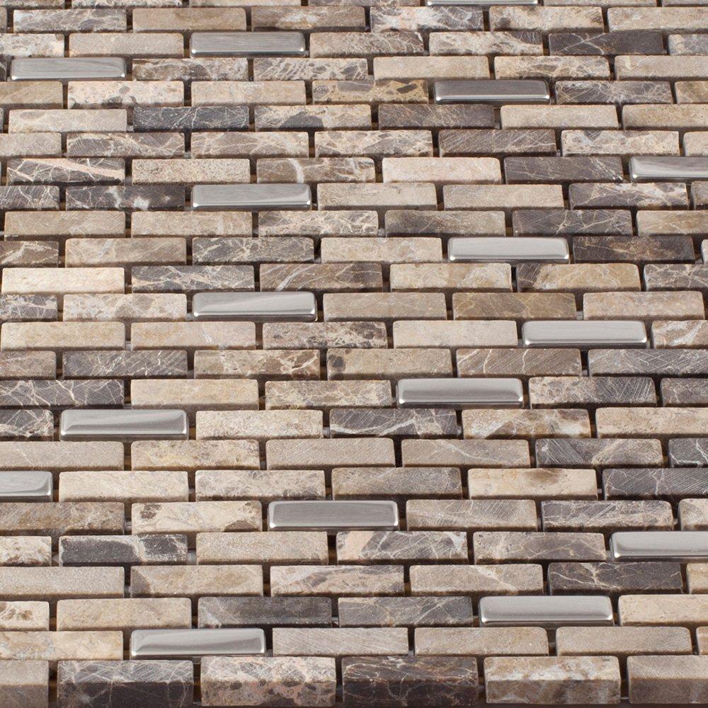 Backsplash Wall Tiles for Kitchen Mosaic 12x12 Sheets Shower ...
