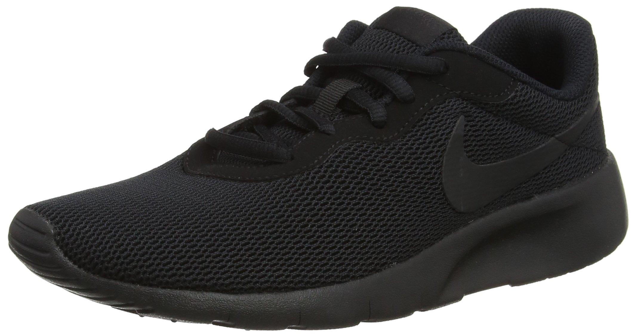 Nike Kids Tanjun (GS) Black/Black Running Shoe 6 Kids US