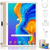 Tablets 10 Inch Android 9.0 Pie Tablet 3GB RAM+32GB ROM/128GB Dual SIM Dual Camera 8500mAh, 4G/ WiFi, Bluetooth, GPS Unlocked