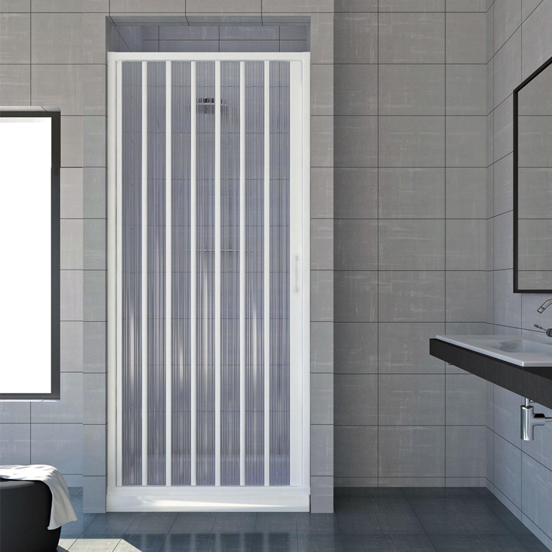 Incroyable Porte Paroi De Douche En Plastique PVC Mod. Vergine 90 Cm Avec Ouverture  Latér: Amazon.fr: Cuisine U0026 Maison