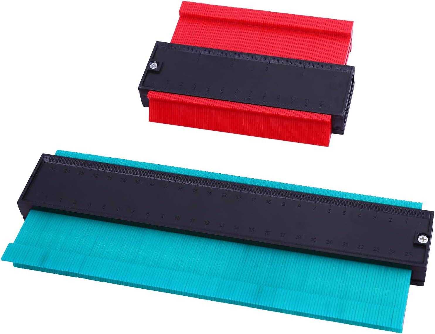 vert Cooraby Jauge de contour en plastique pour bois stratifi/é