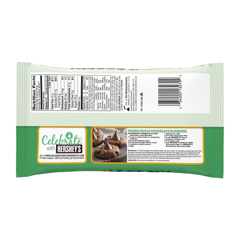 Amazon.com : KISSES Chocolates with Almonds, Gluten-Free Milk ...