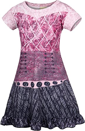 AmzBarley Girls Princess Costume Outfit Dress for Halloween Fancy Party Cosplay Dress Up Nightgown