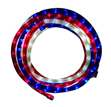 Amazon green longlife 8080117 red white and blue decorative green longlife 8080117 red white and blue decorative led rope light aloadofball Gallery