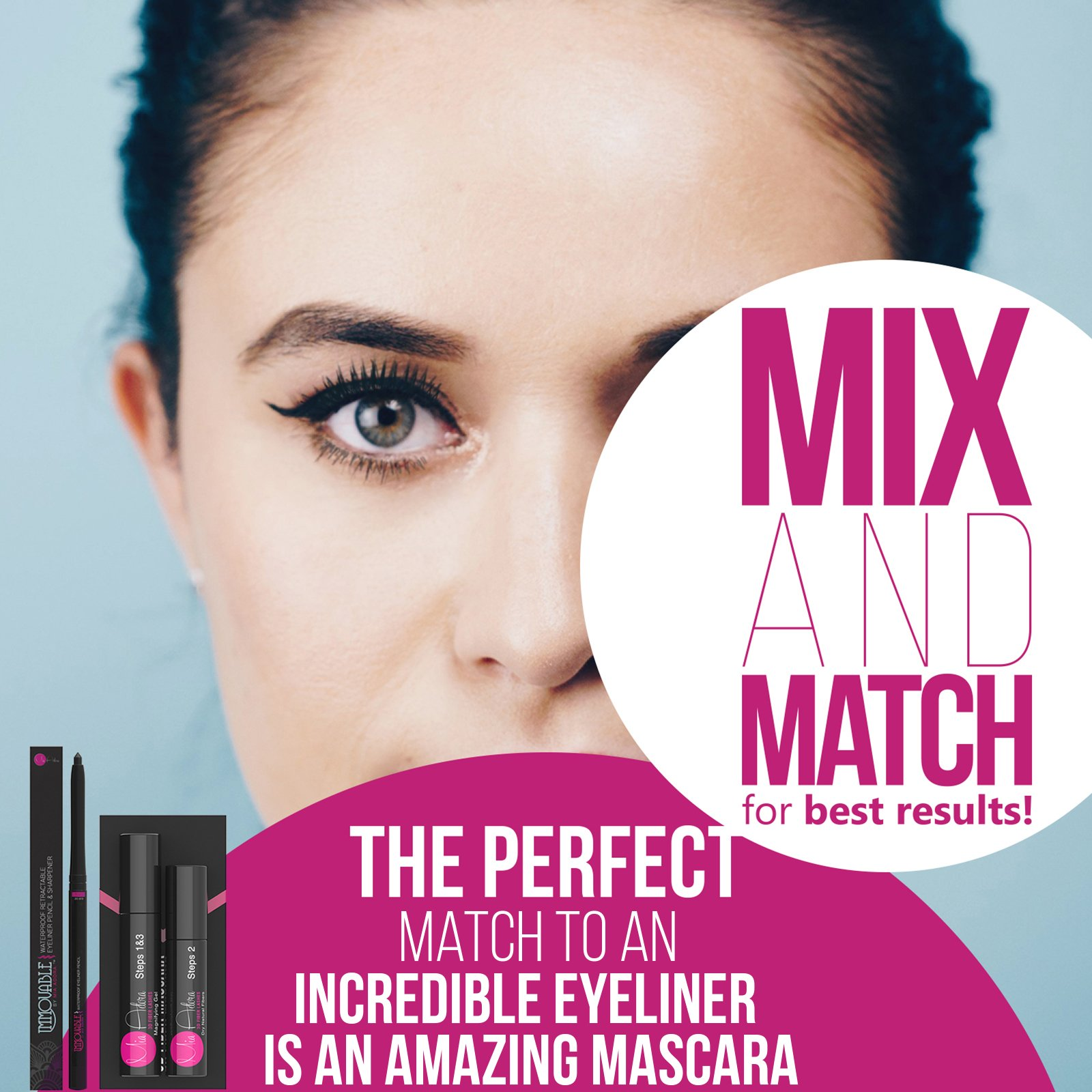 Best Black Waterproof Eyeliner Pencil with Sharpener - 12 Hour Wear - Easy to Use & Perfect Eye Liner for Your Cat Eyes & Waterline - Immovable by Mia Adora Makeup by MIA ADORA (Image #7)