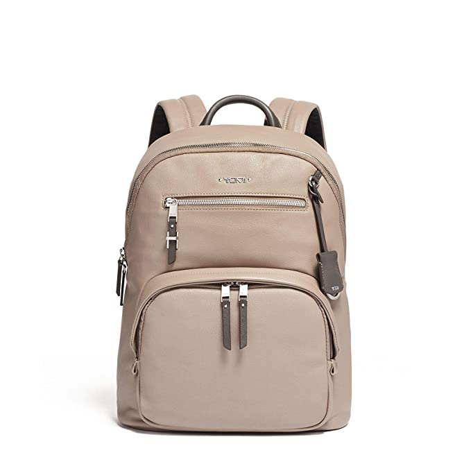 TUMI – Voyageur Hagen Leather Laptop Backpack
