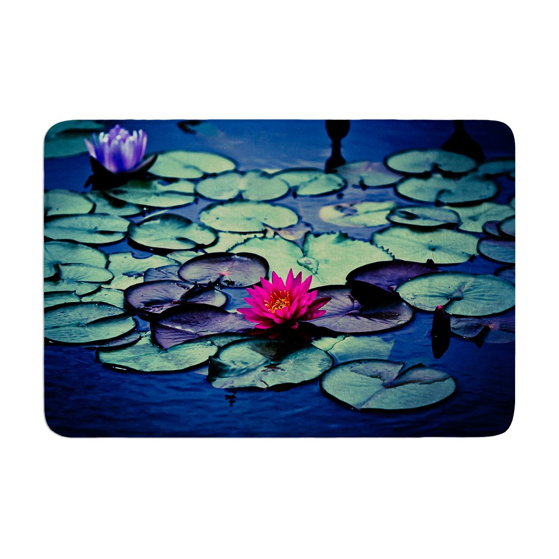 Memory Foam Water Lily.Amazon Com Kess Inhouse Ann Barnes Twilight Water Lily