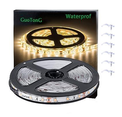 Amazon.com: GuoTonG - Tira de luces LED SMD 2835 LED, 12 V ...
