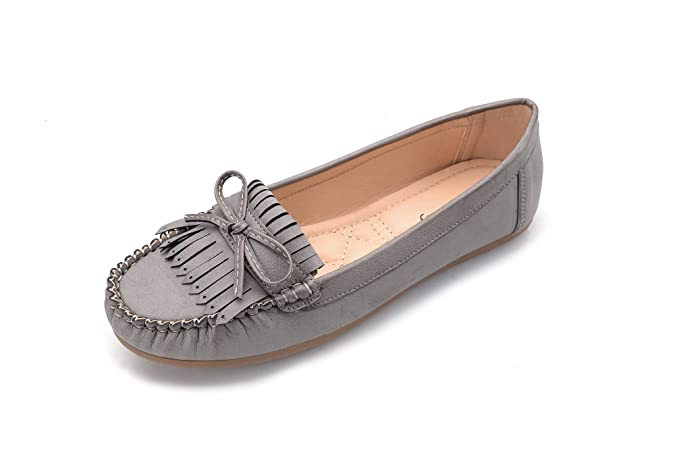 Amazon.com | Ashley A Collection Zoe(Zoe) Women Slip on Moccasins Driving Loafer Shoes | Loafers & Slip-Ons