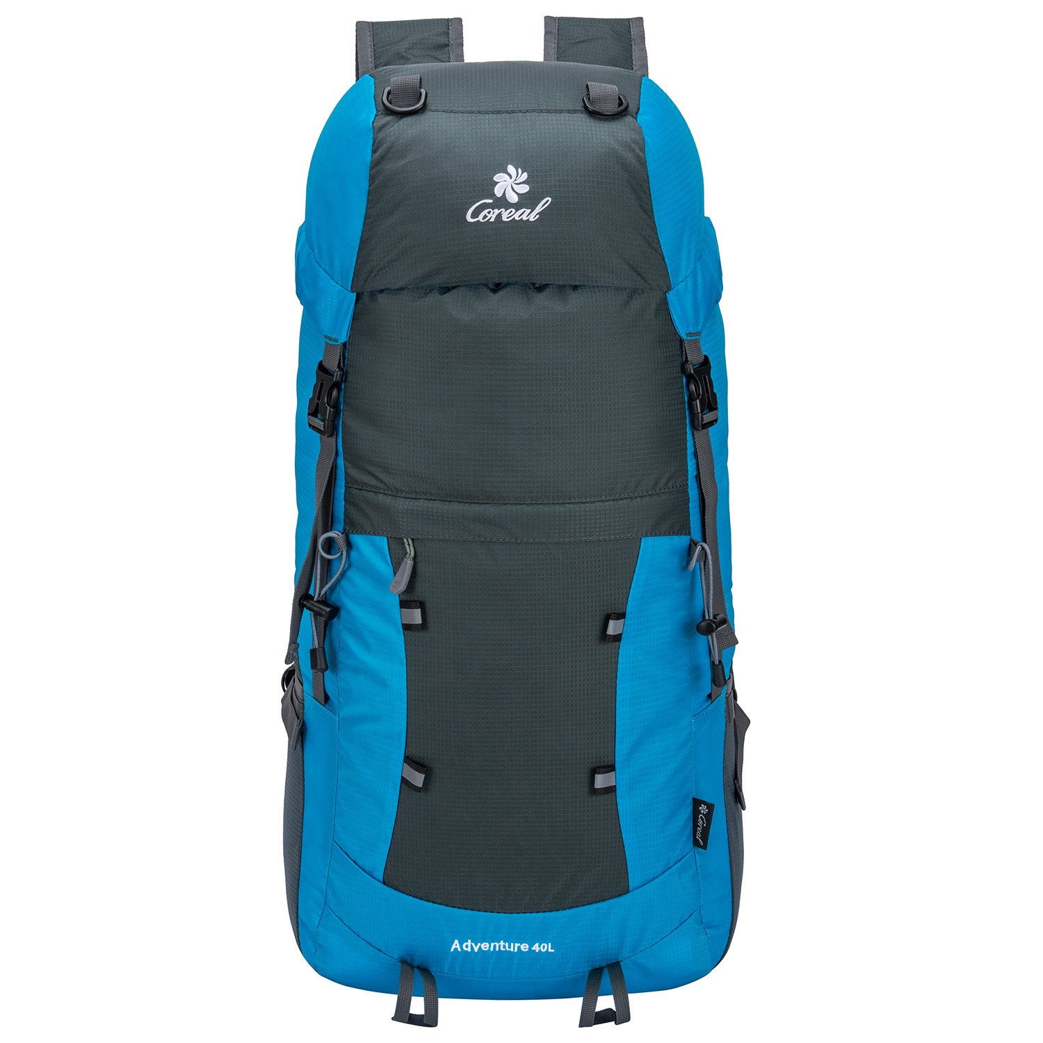 Coreal 40L Lightweight Packable Hiking Backpack Foldable Travel ...