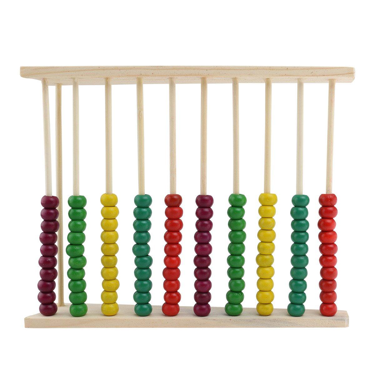WINOMO Abaco di legno del giocattolo educativo per bambini