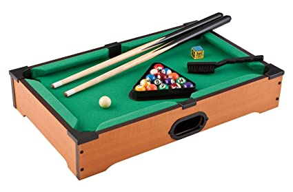 Sunshine 8 Ball Pool Table for Kids - Small (Size: 51 x 31 x