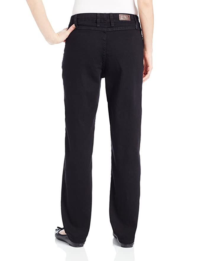7e941d5c Amazon.com: Lee Women's Petite Relaxed Fit Side Elastic Tapered Leg Jean:  Clothing