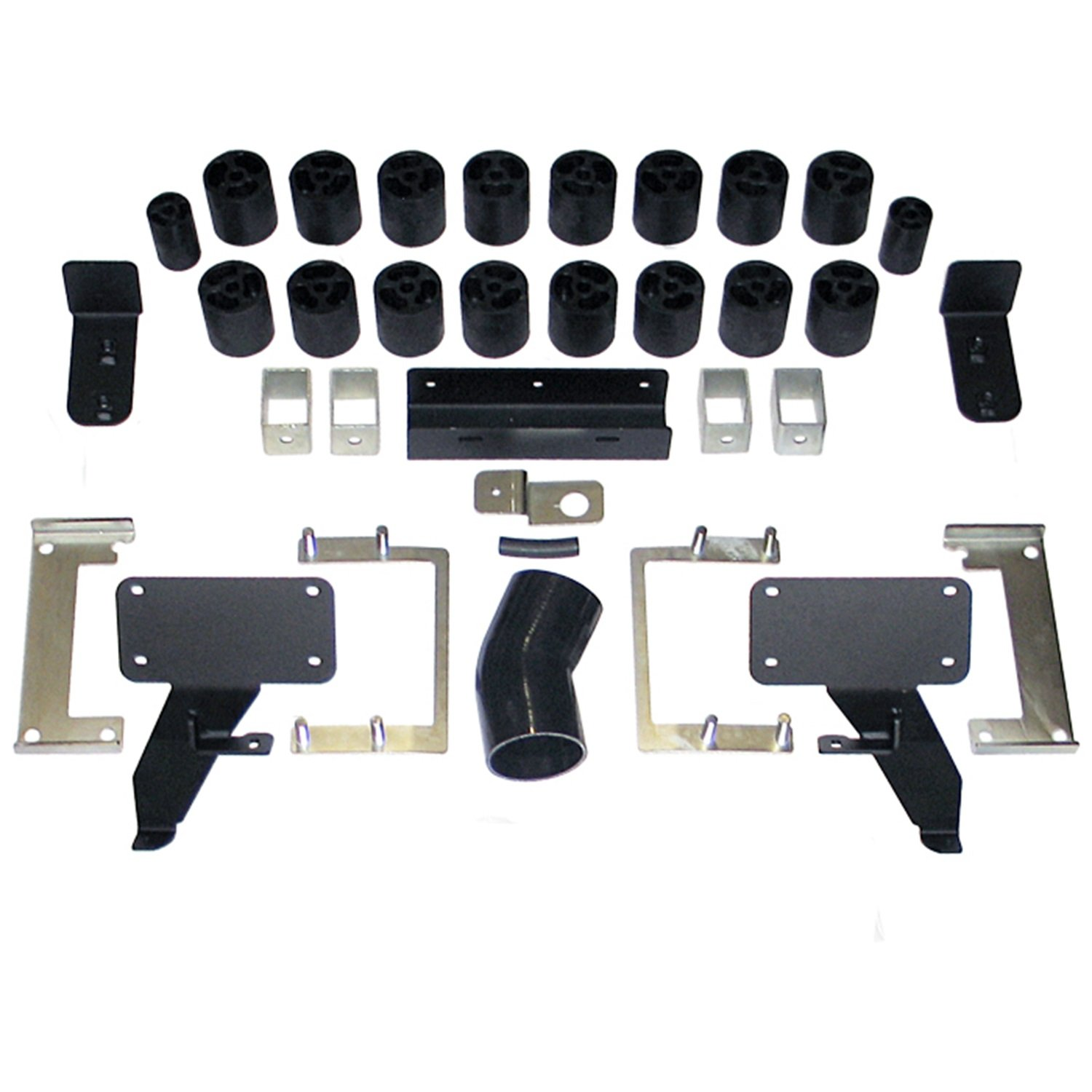 Made in America Ford F-150 Gas 2WD and 4WD W//OEM Hitch Ecoboost Motor Only 3 Body Lift Kit Performance Accessories PA70103 Ford F-150 Gas 2WD and 4WD W//OEM Hitch Ecoboost Motor Only 3 Body Lift Kit fits 2011 to 2014