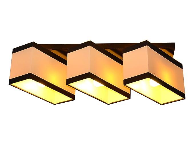 Plafoniere Da Soffitto In Tessuto : Lampada da soffitto plafoniera milano b3d 3 luci diverse