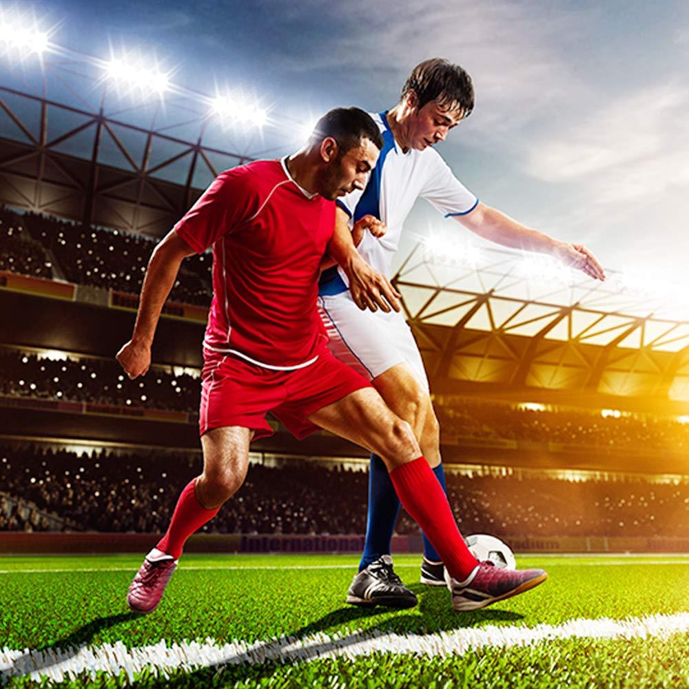 Amazon.com: Petrala Calcetines de fútbol para hombre ...