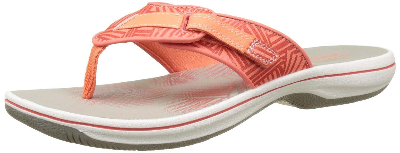 4ada92ceb1ad Clarks Women s Brinkley Quade Flip Flops