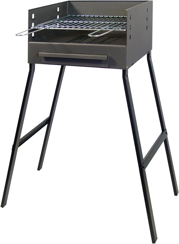 IMEX EL ZORRO 71402 - Barbacoa con Parrilla de Hierro, 75 x 44 x 24 cm