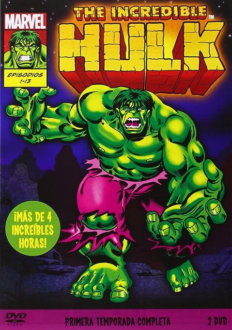 The Incredible Hulk - Temporada 1 [DVD]: Amazon.es ...
