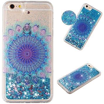 HopMore Glitter Funda para iPhone 6S Plus/iPhone 6 Plus ...