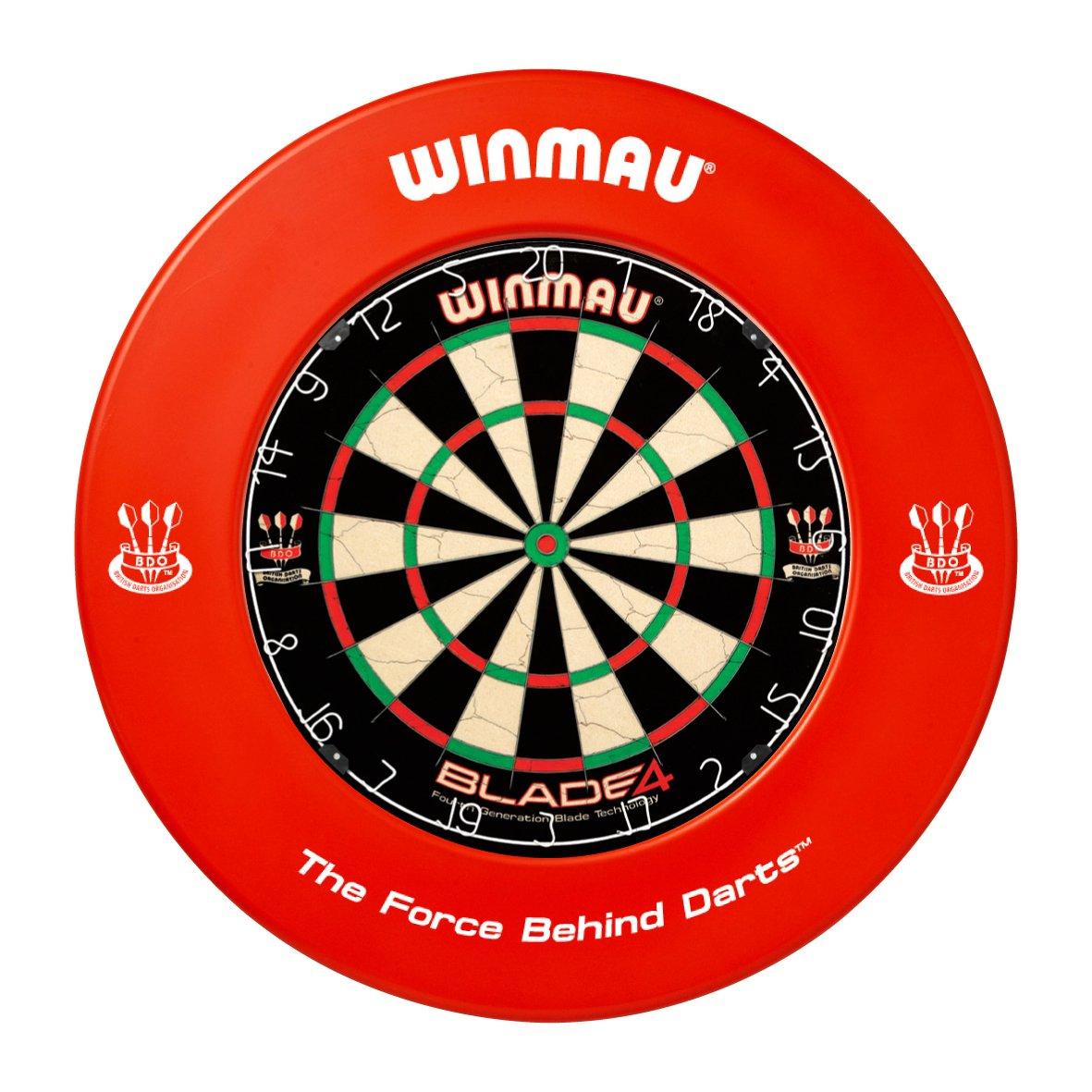 WINMAU RED DARTBOARD SURROUND RUBBER RING