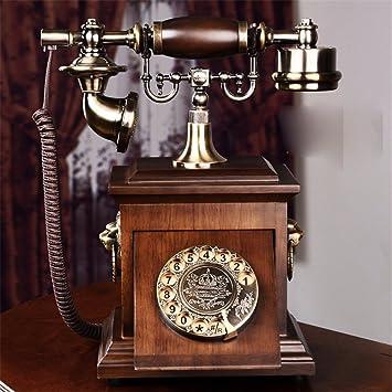 Vintage Retro Teléfono Nouveau Continental madera maciza ...